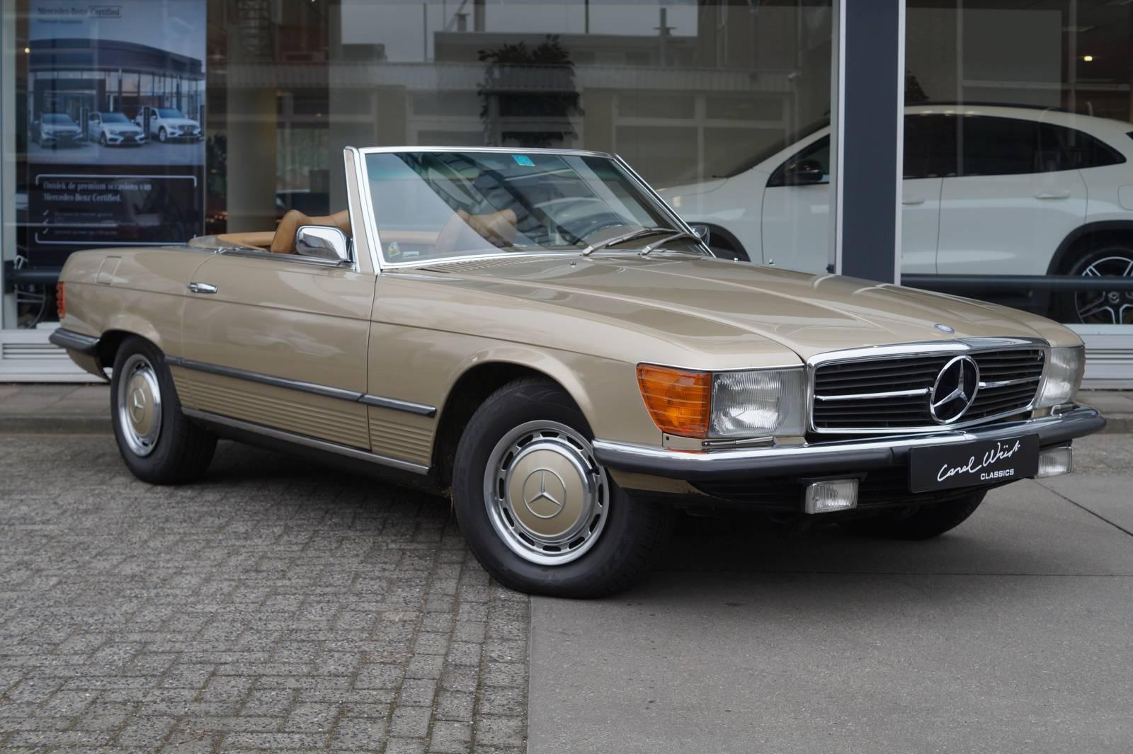 Mercedes Bens SL 300 1972 te koop 01 1600